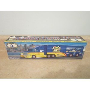 sunoco-racing-team-truck-1997-collectors-edition-series-4-friction-race-car-included-2-vehicles-in-1