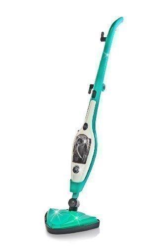 Abnehmbare Dampf-mop (Smart Steam Multi-Dampfmop 10in1 - Smaragdgrün)