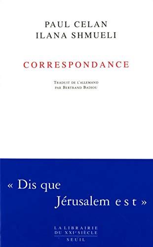 Correspondance (1965-1970) par Paul Celan, Ilana Schmueli