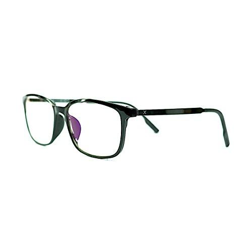 PIXEL LENS DARK - BILDSCHIRMBRILLE Für PC, TV, Tablet, Smartphone, GAMING. Gegen Ermüdung der Augen, Gesteigerter Sehkomfort, Ultraleichtes Brillengestell STAHL-TR90, Zertifizierte Blaulichtreduzierun