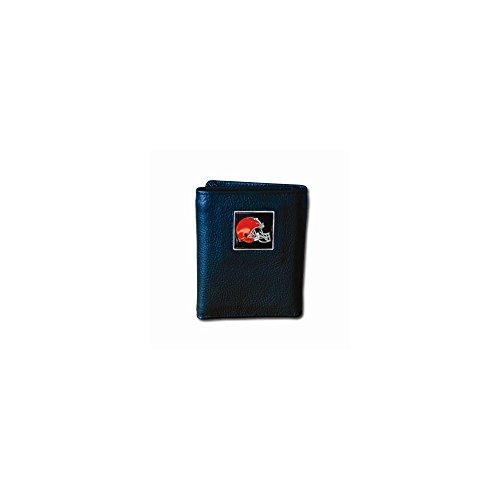personalisiert Prägung Tri-fold Braun Brieftasche Artikel Geschenk NFL -