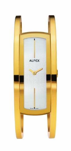 Alfex - 5572_021 - Montre Femme - Quartz Analogique - Bracelet Acier Inoxydable Or