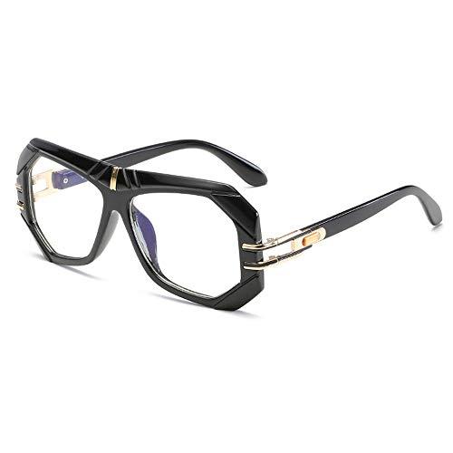 Sonnenbrillen, Persönlichkeit große Rand rundes Gesicht Brille, Männer und Frauen mit dem gleichen Absatz, UV400 Linse polarisiertes Licht,3