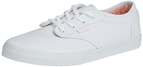 Vans Z Atwood Low, Baskets Basses Fille Blanc (canvas) white-english rose