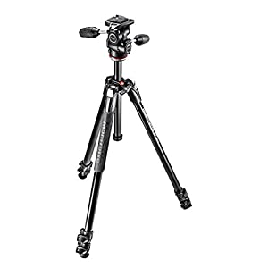 Manfrotto MK290XTA3-3W Tripod with Ball Head - Black