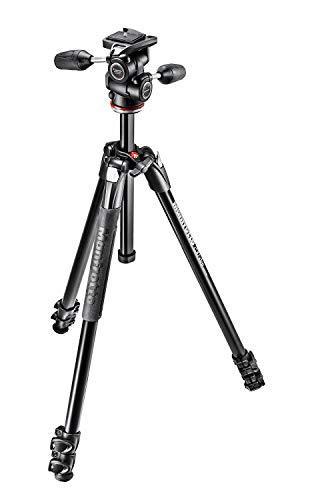 Manfrotto mk290X TA3-3W Digital/Film Kameras Schwarz Stativ-Stative (Aluminium, schwarz) - Digital-film-kamera