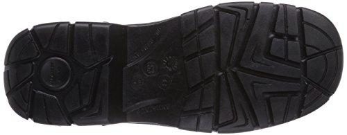 MTS Breva S3 Flex 40108 Unisex-Erwachsene Sicherheitsschuhe Schwarz (Schwarz)