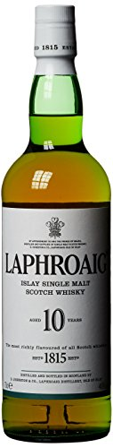 - 31SDENkdehL - Laphroaig Islay Single Malt Scotch