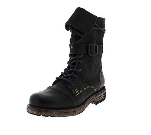 Yellow Cab Damenschuhe - Boots Utah 1-A - Black, Größe:41 EU