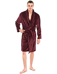 Amazoncouk Red Dressing Gowns Kimonos Nightwear Clothing