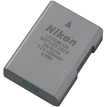 Nikon EN-EL14A Rechargeable Li-Ion Battery for D5300 and Df Cameras