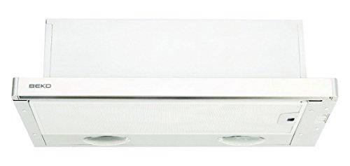 Beko CTB 9250 X Telescópica o extraplana Acero inoxidable, Color blanco 440m³/h...