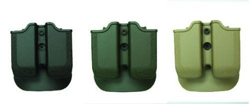 MP03 - Double Paddle Mag Pouch Black by IMIIsrael -