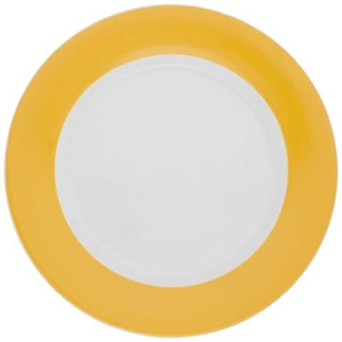 KAHLA Pronto Teller 10-1/4 Zoll), Orange/Gelb, 1 Stück (Essgeschirr Platter)