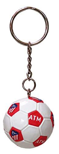 Atletico DE Madrid Llavero Mini Balon
