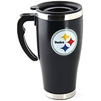 NFL Football PITTSBURGH STEELERS Travel Mug Thermotasse Kaffeetasse Tasse