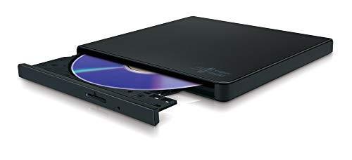 LG GP57EB40 8x8x8xDVD+RW 8x6DVD-RW 6xDVD+/- DL 5xDVD-RAM DVD-Brenner Slim extern USB2.0 Black RTL