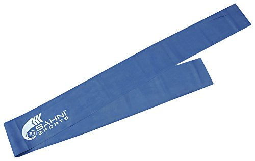 SAHNI-SPORTS-Latex-Exercise-Resistance-Thera-Bands-Heavy-15-Meter-Blue