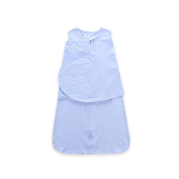 HAOHEYOU Newborn Solid Sleeping Bag Swaddle,3 6 12 18 24 Adjustable Baby Sack Wrap Wearable Blanket 5