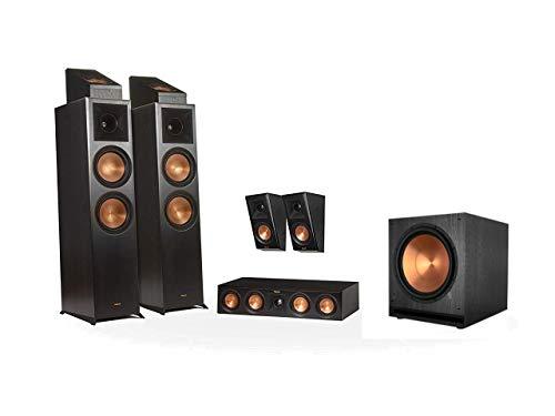 Preisvergleich Produktbild Klipsch RP-8000F 5.1.2 Dolby Atmos Home Theater System Schwarz (Ebony)