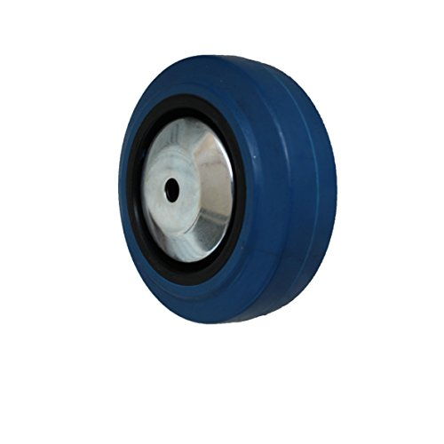 Rad Rolle 100mm Blue Wheel Erstazrad Transportrolle Transportrad