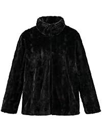Amazon.fr   fourrure - 50   Manteaux et blousons   Femme   Vêtements fcdce26f5042