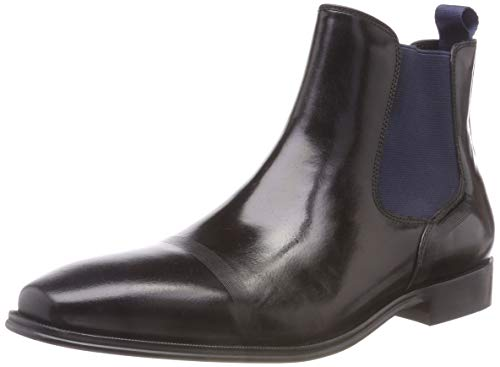 Kenneth Cole REACTION Herren Pure Boot Chelsea, Schwarz (Black 001), 41 EU