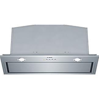 Bosch DHL785C – Campana (Canalizado/Recirculación, 730 m³/h, A, Built-under, LED, 244 Lux) Acero inoxidable