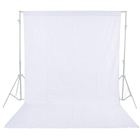 Phot-R 3mx3m Photo Studio Non-Woven Photo Studio Lavable à la machine backdrop écran blanc Photographie