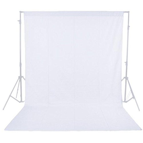 Phot-R P-NW16X21WH 1.6 x 2.1 m Photo Studio Non-Woven Fotostudio Maschine waschbar Hintergrund-Hintergrund Screen Fotografie Video weiß