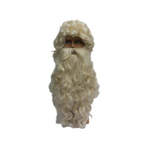 Perücke & Bart Nikolaus Luxus (Weihnachtsmann Kostüm)