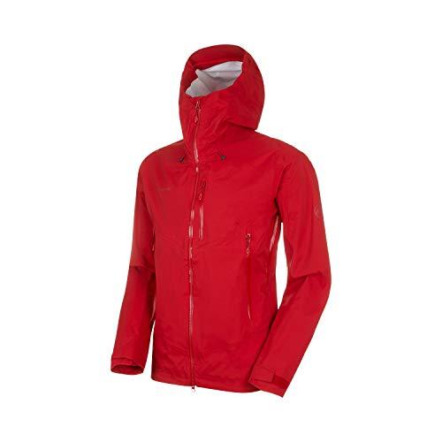 Mammut Herren Kento Hooded Hardshell-Jacke mit Kapuze, Scooter, L