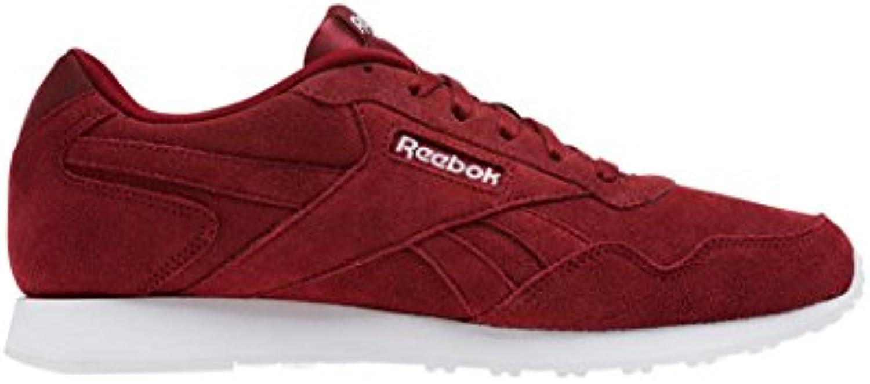 Reebok Royal Glide LX, Zapatillas de Trail Running para Hombre, Rojo (Collegiate Burgundy/White 000), 40.5 EU