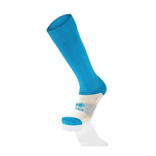 Erreà calzini da allenamento-Polyestere Calcio Calze Calzini Sportivi Unisex, Calze per bambini e bambine, taglia A (3-4-5-6-7-8), - zyanblau, Taglia unica