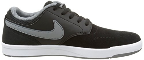 Nike Jungen Sb Fokus Skateboardschuhe Schwarz / Grau (Schwarz / Grau-Weiß)
