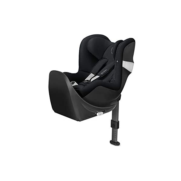 CYBEX Gold Sirona M2 i-Size Car Seat, Incl. Base M, From Birth to approx. 4 years, Up to Max. 105 cm Height, Urban Black  Cybex gold car seat sirona m2 i-size incl. base m Colour: urban black Item number: 519000957 1