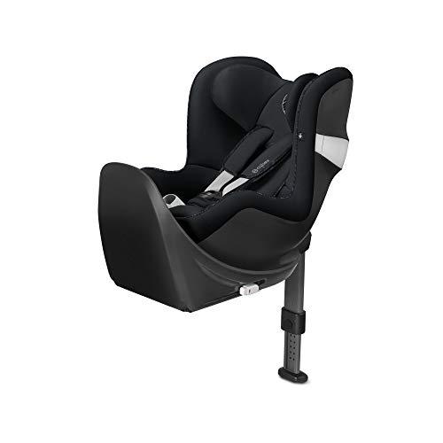 Cybex - Silla de coche grupo 0+/1 Sirona M2 i-size, desde el nacimiento hasta los 4 años, de 45 cm hasta 105 cm aproximadamente, 19 kg máximo, con base M, Negro (Urban Black)