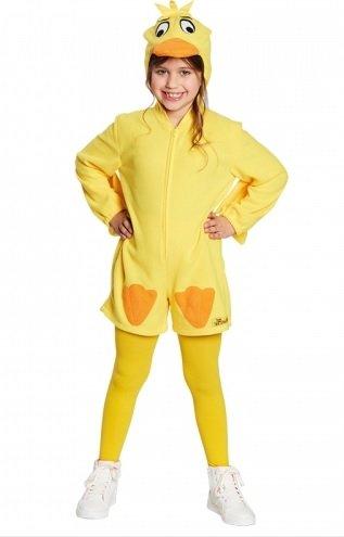 Rubie's Ente Kostüm Sendung mit der Maus gelb Entenkostüm Kinder Gr. 140