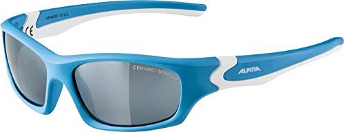 brille FLEXXY TEEN Sportbrille, cyan-white, One Size ()