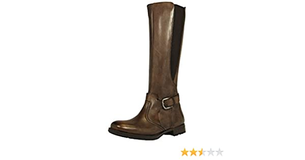quality design 3b526 64101 Esprit SOPHIE Brown Leather Women Boots Shoes: Amazon.co.uk ...