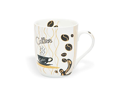 Clay Craft Orchid 346 Bone China Milk Mug, 350ml/5.7cm, Multicolour