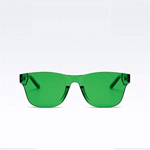 GY-HHHH Klassisches Retro-Outdoor-EssentialFahrsonnenbrille, weiblich, Herrensonnenbrille-grün