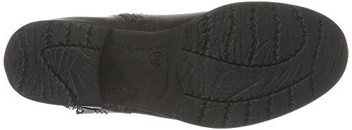Softline Damen 25461 Biker Boots Schwarz (Black 001)