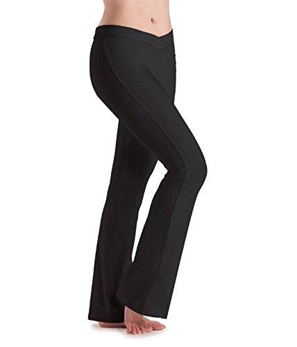 Motionwear V-Hose, Stiefelschnitt, Schwarz, Damen, 7163, schwarz, Small Adult Motionwear-jazz-pants