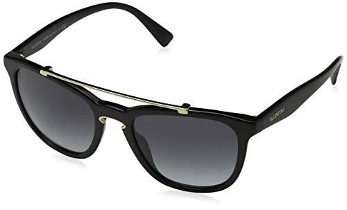 Valentino Damen 0VA4002 50018G 54 Sonnenbrille, Schwarz (Black/Gradientsmoke),