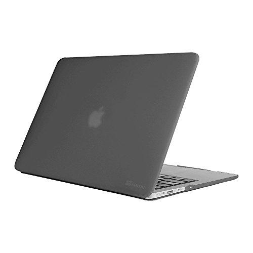 Fintie Hülle für MacBook Air 13 - Ultradünne Hochwertige Matt Gummierte Hartschale Tasche Schutzhülle Snap Case für Apple MacBook Air 13.3 Zoll (A1466 / A1369), Grau (Macbook Pro 13 Zoll Case Grau)