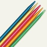 ADDI Nadelspiel Colibri - Stärke 2,5mm; (Länge 15cm) - mit je Einer Spitze für Basic- und Lace-Stricken pro Nadel - (Lager: V-WD)