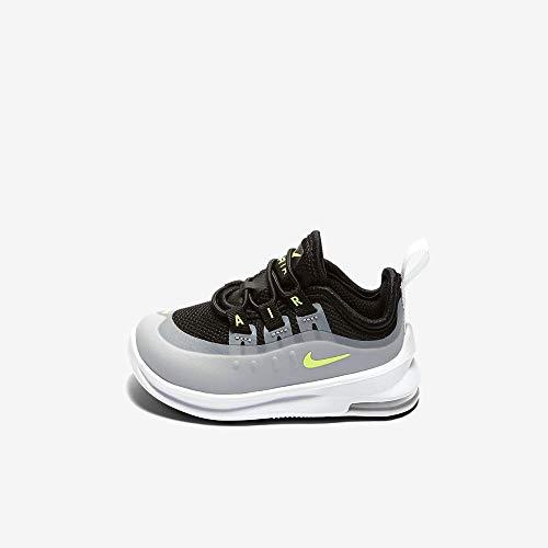Nike Unisex Baby AIR MAX AXIS (TD) Hausschuhe, Mehrfarbig (Black/Volt/Wolf Grey/Anthracite 005), 21 EU