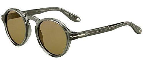 Givenchy Unisex-Erwachsene GV 7001/S A6 I73 Sonnenbrille, Grün (Transp Olive/Green), 51