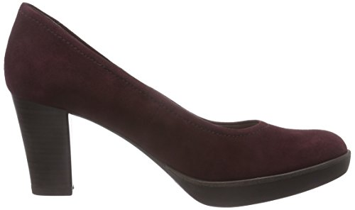 Tamaris - 22425, Scarpe col tacco Donna Rosso (Rot (Bordeaux 549))
